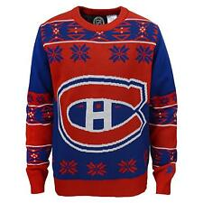 Montreal Canadiens NHL Youth Boys Christmas Ugly Sweater