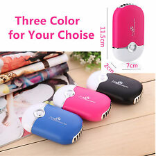 Rechargeable Portable Mini Handheld Air Conditioning Cooling Fan USB Cooler DeGA