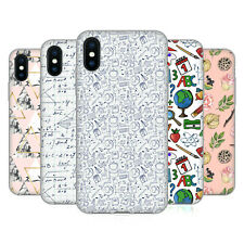 OFFICIAL JULIA BADEEVA ASSORTED PATTERNS 3 SOFT GEL CASE FOR APPLE iPHONE PHONES
