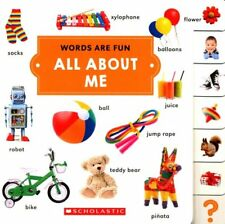 Words Are Fun: All about Me (2017, Board Book)