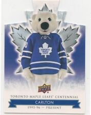 2017-18 UPPER DECK TORONTO MAPLE LEAFS CENTENNIAL BLUE DIE CUT U PICK FROM LIST