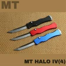 MT HALO IV Rev.II S/N D2 Tanto folding knife aluminum handle Hiking camping Tool