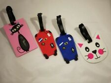 Cute-Luggage-Baggage-Tags-Labels-Name-Address-ID-Suitcase-Travel-Cartoon-Variety