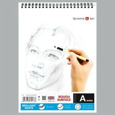 Sketch Pad Rough White Drawing Artist Paper on SPIRAL Book 50 sheets