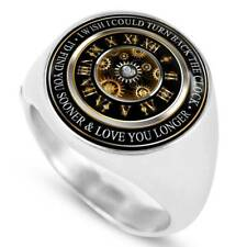 Valentines Day Romantic Inspiration Signet Ring - Husband and Wife Birthday Gift