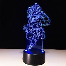 Dragon Ball 3D illusion Visual Night Light 7 Colors Change LED Desk Lamp Bedroom