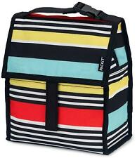 PackIt Freezable Lunch Bag with Zip Closure, Batik Ombre