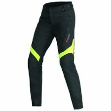 Dainese Tempest D-Dry Womens Pants Black/Fluo Yellow