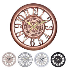 Large Outdoor Garden Wall Clock Big Arabic Numeral Giant Open Face Decoration