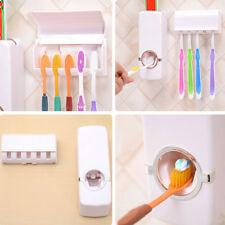 Hands Free Toothpaste Dispenser Automatic Toothpaste Squeezer Holder Hygienic