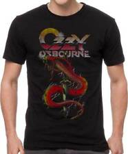 Ozzy Osbourne Vintage Snake Prince of Darkness Heavy Metal Band T Shirt OZZ10008