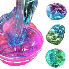 Funny Clear Crystal Plasticine Clay Jelly Slime Sludge Mud Kids Intelligent Toy