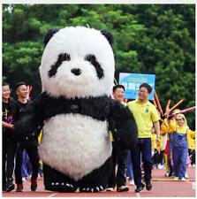 2.6m/3m Inflatable Panda Bear Mascot Costume Advertising Adult Dress Outfit 2019