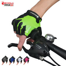 Cycling Gloves Men Women Half Finger Summer Antislip Road Bike Bicycle MTB Mitts