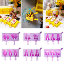 Fruit Tree DIY Ice Cream Mould Ice Cream Maker Silicone Tray Popsicle Mold