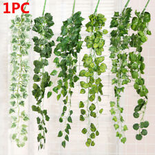 Wall Hanging Home Decor Vine Artificial Ivy Leaves Fake Foliage Garland Plants