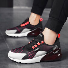 Mens Air Cushion Sports Running Walking Shoes Athletic Sneakers Mesh Breathable