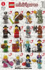 LEGO 8827 SERIES 6 LEGO MINIFIGURES BRAND NEW PICK THE FIGURE YOU WANT