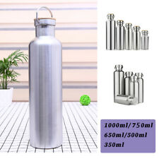 350-1000ml Stainless Steel Vacuum Insulated Water Bottle Double Wall Portable