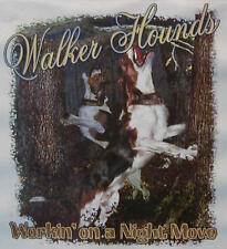WALKER HOUND WORKIN' ON A NIGHT .... COON HUNTING SHIRT