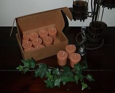 "Soy Votive Candles 12 Pk Box Kitchen Food Scents ""C-H"" Seasons of the Earth"