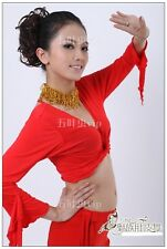 Belly Dance Cotton Flared Sleeves Top Blouse 9 Colours