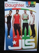OFFICIAL ~ JLS ~ RELATION  Birthday Card Great Graphics