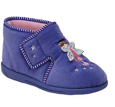Girls Bedroom slippers lilac childs childrens fairy new