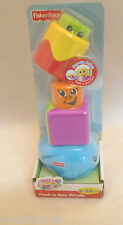 FISHER PRICE STACK'N SURPRISE BLOCKS WHALE OR FROG NEW
