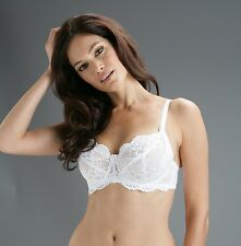 Pour Moi Diamond White Underwired Bra Up To a G Cup