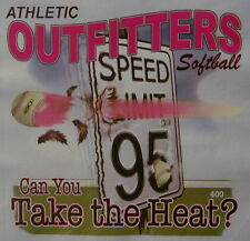ATHLETIC OUTFITTERS CAN YOU TAKE THE HEAT? FASTPITCH SOFTBALL SHIRT