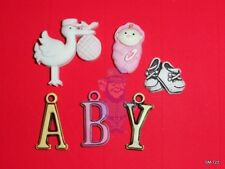 SMALL DETAILS SILICONE MOLDS/Fondant/Gumpaste/Polymer Clay/Various BABIES models