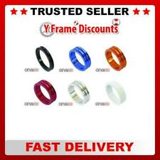 """One23 New Alloy 1 1/8"""" Bike Cycle Headset CNCAVE Spacers Sizes 5mm and 10mm"""
