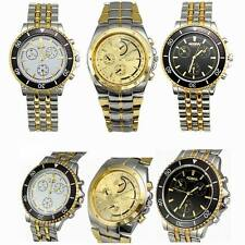 Attractive Men's Luxury  Watches Men's Quartz Stainless Steel Wrist Watch