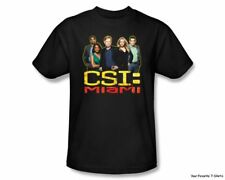 Officially Licensed CSI Miami The Cast Is Back Adult Shirt S-3XL