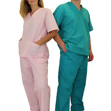 Medical Scrubs Sets NATURAL UNIFORMS XS-S-M-L-XL-2XL-3XL Unisex Tops Pans BP101