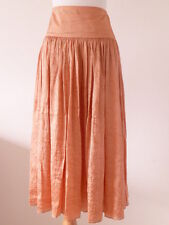NEW TALBOTS Women Skirt, Size 8P & 14P, Creased Silk Nylon, Tan, NWT$149