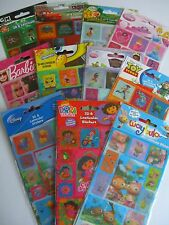 CHARACTER 3D & Lenticular (Moving) STICKERS - 14 Designs {fixed £1 UK p&p}