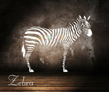 Wall Decor Decal Sticker Mural Removable Large Zebra DC0092