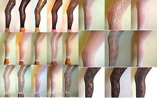 SEXY LADIES FLORAL LACE EDGE FULL ANKLE LENGTH FOOTLESS TIGHTS PANTS LEGGING NEW