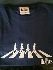 THE BEATLES - ABBEY SILHOUETTE(2011 Apple) Fruits Of The Loom cotton T-Shirt