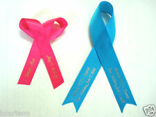 """5/8"""" 7/8"""" Personalized Printed Ribbons Wedding Birthday Party Gift  1 or 2 lines"""