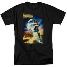 Back To The Future Poster Officially Licensed Adult Shirt S-3XL