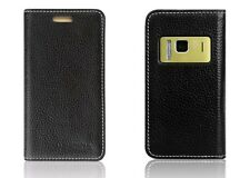 Real Genuine Leather Flip Case Cover Pouch For Nokia N8 UU5906