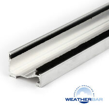 Weatherbar Metal Inward, Lowline, Standard Door Sill, Various Lengths & Finishes