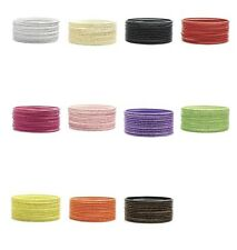 Set of 12 gorgeous glitter wire bangles, 7 gorgeous colour options!