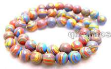 "8mm Red Zebra Stripe Round Agate Beads for Jewelry Making Strands 15""-los484"