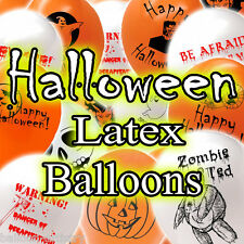Haunted Halloween Horror Party Printed Latex Balloons All In One Listing
