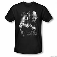 Batman The Dark Knight Rises Bane Evil Rising Officially Licensed Fitted Shirt