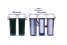 Oceanic REVERSE OSMOSIS RO/DI REEF AQUARIUM REEF WATER FILTER 6 STAGE SYSTEM USA